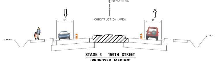 159th Street Traffic Pattern Change