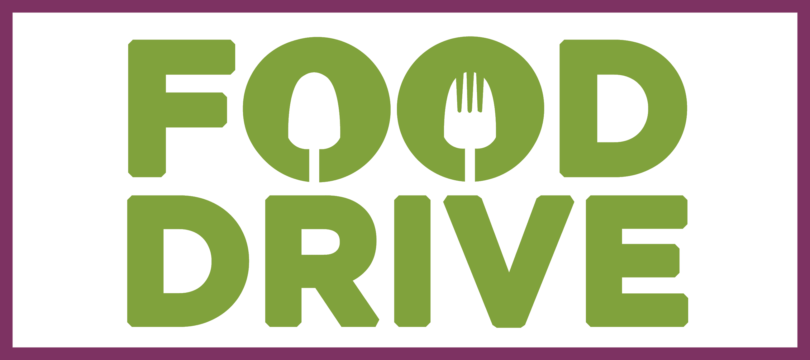 Food Drive Sign_small rectangle