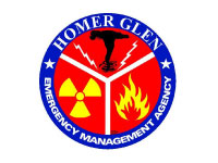 Homer Glen Emergency Management Agency Logo