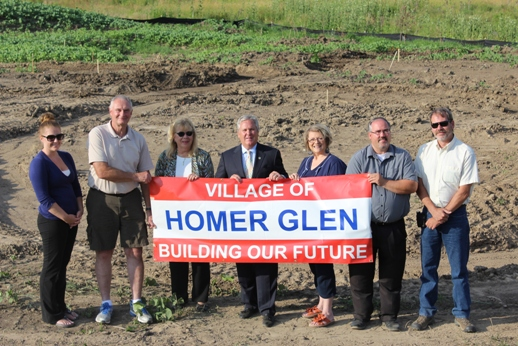 Groundbreaking Ceremony at Erin Hills Subdivision Park Site