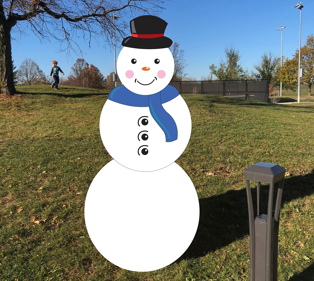 snowman decorating contest photo